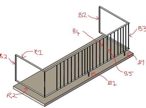 design pattern rails solved railing pattern design autodesk community