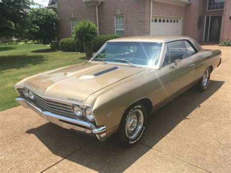 1967 Chevrolet Chevelle Ss 396 For Sale Numbers Matching Original 1967 Chevrolet Chevelle Malibu