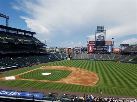 coors field sections coors field section 221 rateyourseats com
