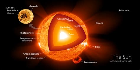 cross section of the sun solar system why is the sun s density less than the