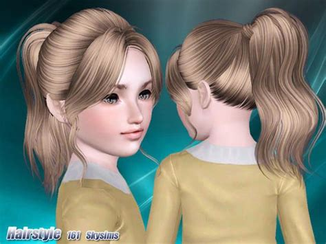 skysims hair child 188 sims 3 pinterest pinterest the world s catalog of ideas