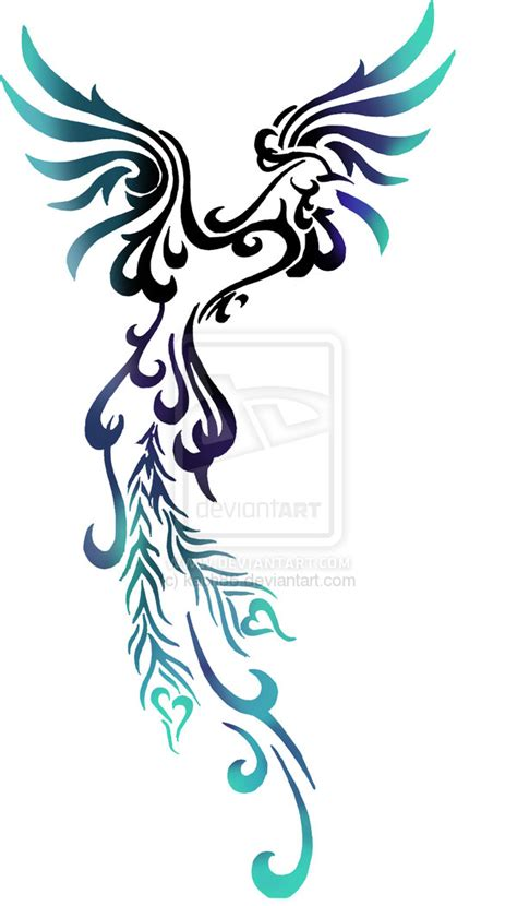 phoenix back tattoo designs designs the is a canvas