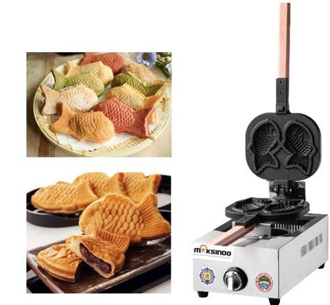 Mesin Waffle Gas jual mesin kue waffle ikan taiyaki gas tyk02 di