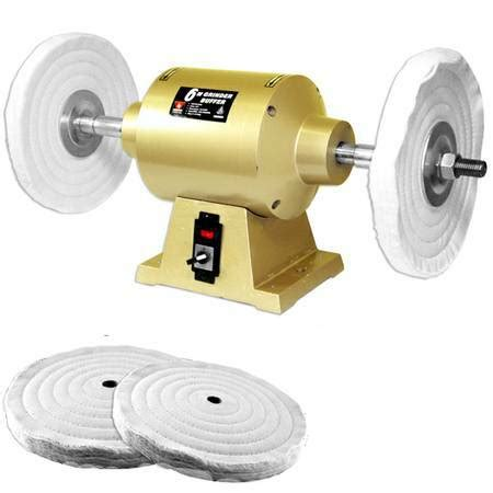 variable speed bench buffer polisher 8 1hp bench buffer polisher grinder buff polish 3450rpm