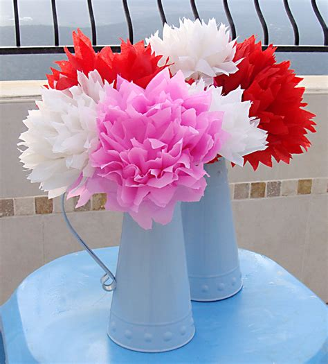 How To Make Mexican Paper Flowers - 20 diy crepe paper flowers with tutorials guide patterns