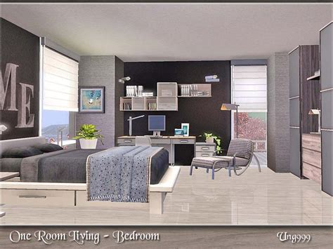 sims 3 bedroom ung999 s one room living bedroom