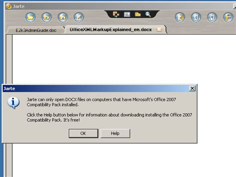 Office 2007 Compatibility Pack by Office Compatibility Pack Prompt