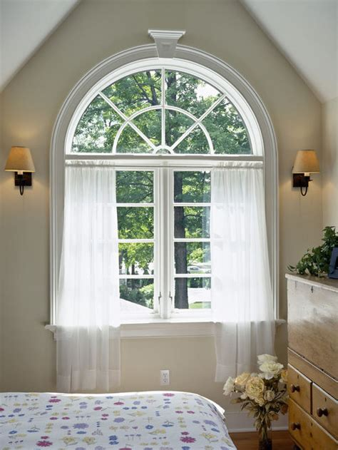 curtains arched windows arched windows curtains houzz