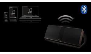 Fidelio Fila philips fidelio p8blk enceinte portable sans fil bluetooth