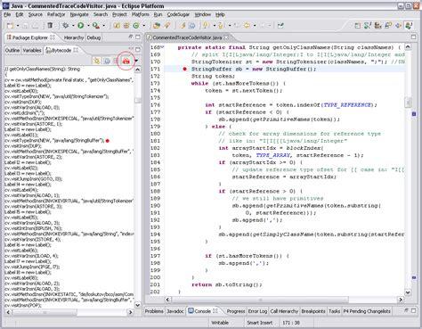 Bytecode Outline Plugin For Eclipse bytecode outline plugin for eclipse exles