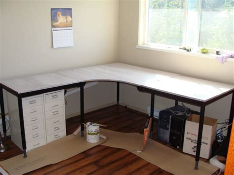 pdf diy home office corner desk plans how to