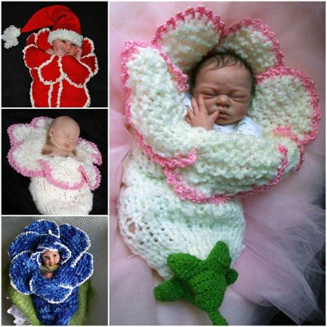 how to knit a flower for a baby hat wonderful diy adorable crochet baby bluebell hat