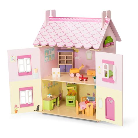 my first dolls house le toy van my first dream house doll house with furniture cuckooland
