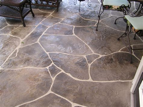 stamped concrete patio designs   Concrete « DaVinci