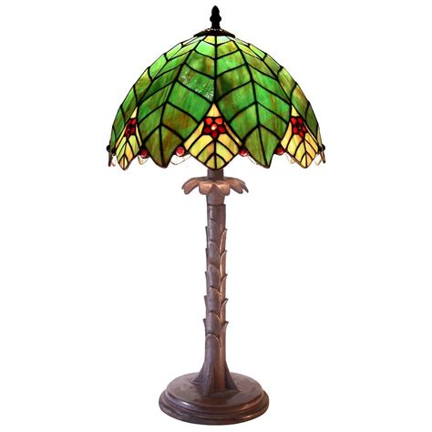 palm tree desk l tiffany style palm tree shaped l 224685