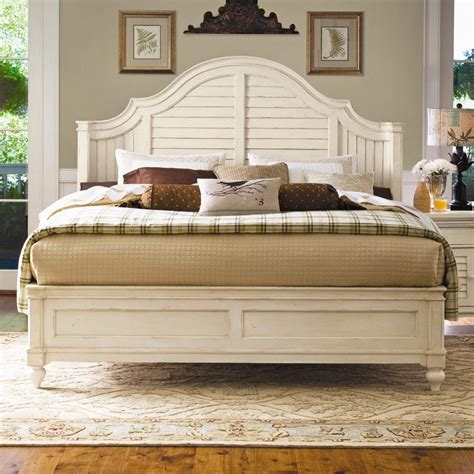 california king bed headboard and footboard paula deen home california king steel magnolia bed with