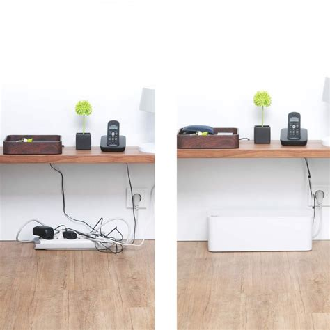 Desk Cable Management Oficina Pinterest Cable Cable Organizer Desk