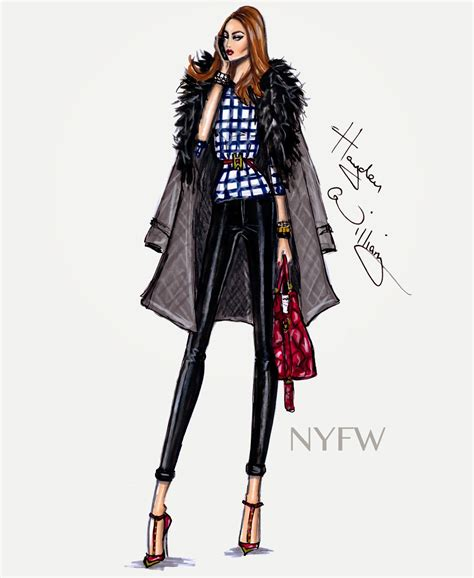 fashion illustration nyc hayden williams fashion illustrations fashion week style