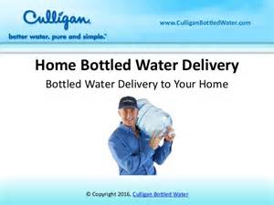 home bottled water delivery