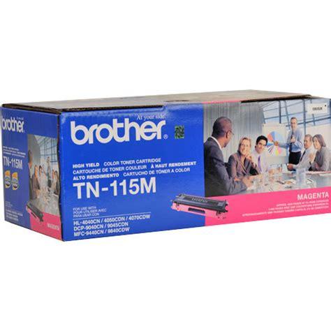 brother tn 115m magenta toner cartridge by office depot brother tn 115m high yield magenta toner cartridge tn 115m b h