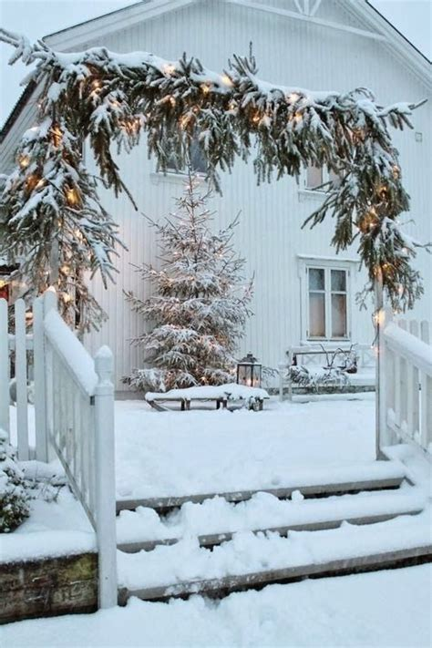 christmas arch vermont christmas time pinterest