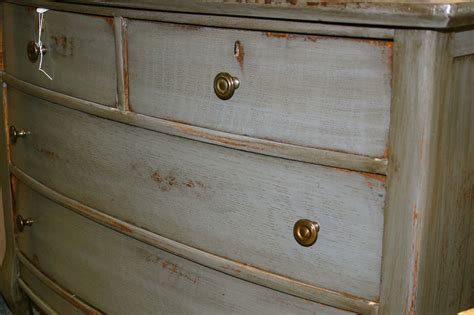 How To Paint White Distressed Furniture by Doodle Bug Distressed Antique Dresser Paint Stain