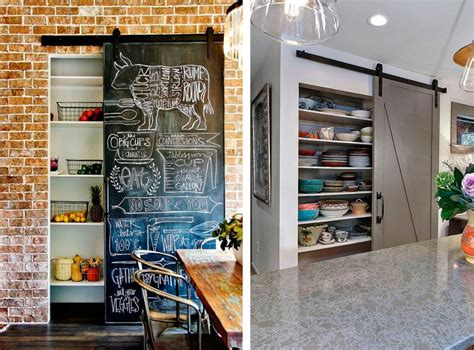 ideas  una pequena despensa en tu cocina decorar hogar