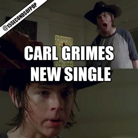 Grimes Meme - funny walking dead carl meme hot girls wallpaper