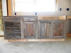 barnwood kitchen cabinet build outdoor ideas