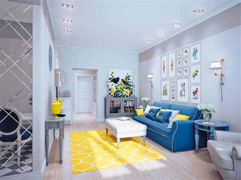 ambiente home design elements cores na decora 231 227 o sala amarela casinha arrumada