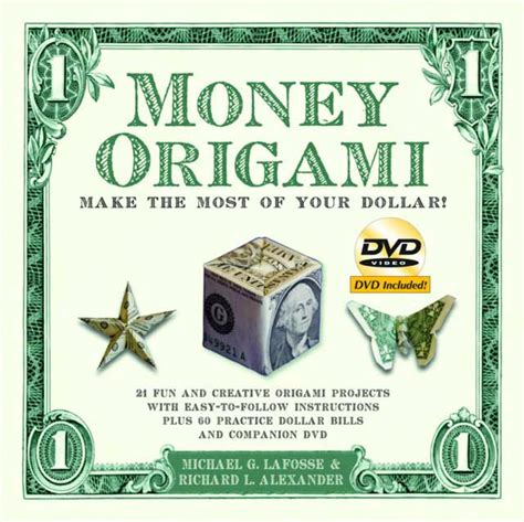 dollar bill origami book money origami make the most of your dollar arts