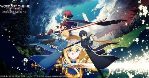 sword art  alicization lycoris game  manga  tomo hirokawa news anime news network