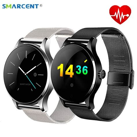 Smartwatch L1 Bluetooth 4 0 Mtk2502 Support Sim Card For Ios Android smarcent k88h smart track wristwatch bluetooth