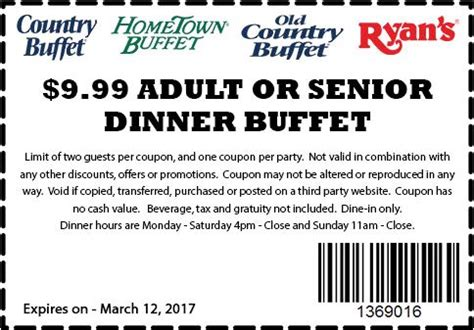 Buffet Coupons Hometown Buffet Menu Prices And Coupons 2018