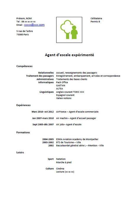 Cv à Télécharger by Resume Format Exemple De Cv Gratuit D Entretien
