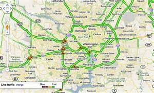 Washington Dot Traffic Map by Can Google Cure Road Rage In Dc Area