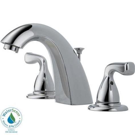 delta foundations 8 in widespread 2 handle bathroom