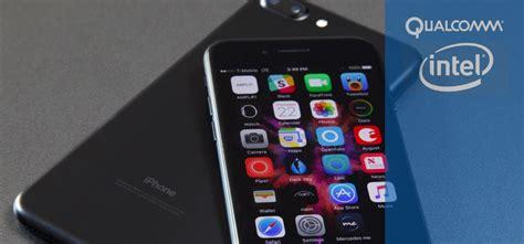 iphone 7 c модемами от qualcomm на 30 быстрее версий с intel