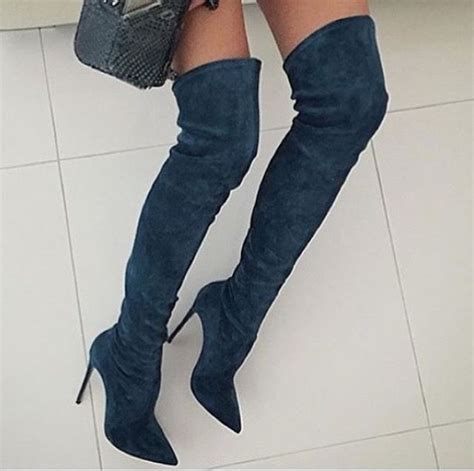 244 best shoes knee thigh high otk boots images on