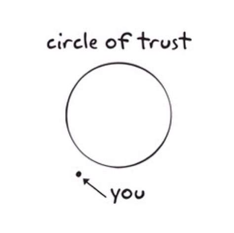 Circle Of Trust Meme - circle of trust misc pinterest