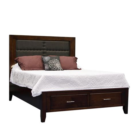 amish storage bed solid wood amish bedroom sets manhattan bed with under