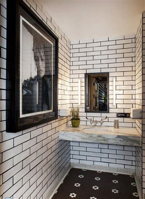restaurant tile 27 small black and white bathroom floor tiles ideas and