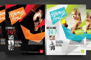 Fitness Flyer Template by Fitness Flyer Flyer V3 Flyer Templates On Creative