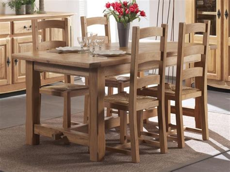 Table Salle A Manger Chene Massif 1609 by Fabrication Guide D Achat