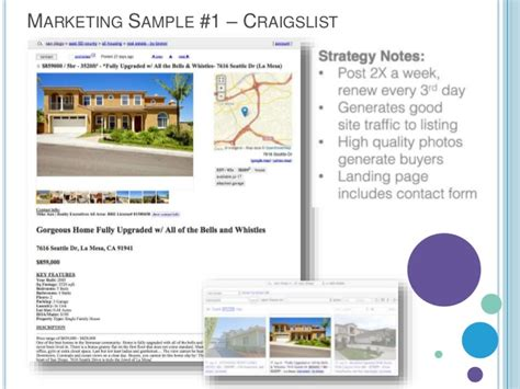 Listing Presentation Template Listing Presentation Template Free