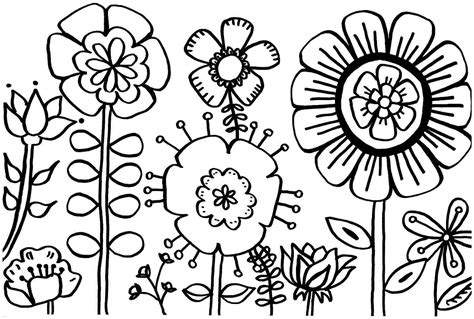 printable spring flowers coloring sheets revolutionary free spring coloring pages flower printable