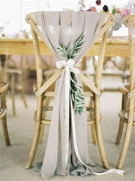 Stuhldekoration Hochzeit by 28 Awesome Wedding Chair Decoration Ideas For Ceremony And