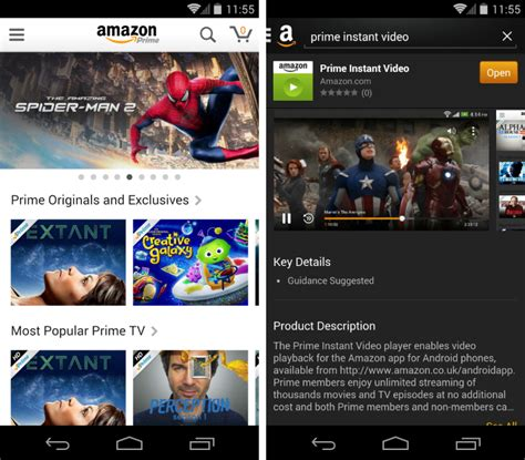 prime app for android s prime instant arrives on android
