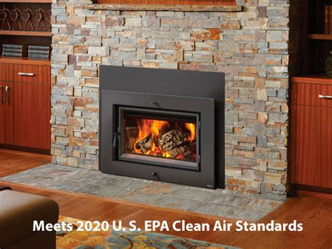 Cleaning A Fireplace Insert by A Large Viewing Area Is Accomplished By A