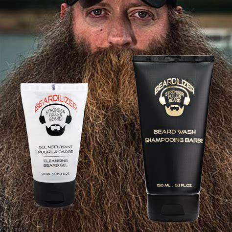 styling gel on beard beardilizer beard wash beard cleaning gel set beardilizer